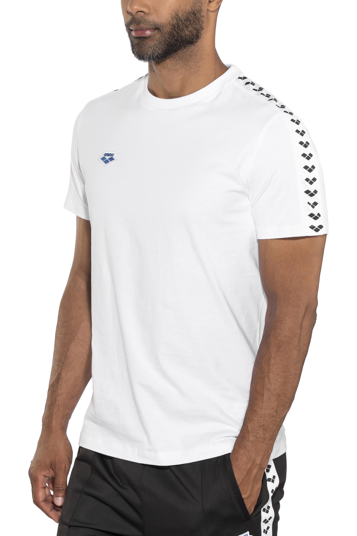 50d41ea8db arena Team T-Shirt Homme, white-white-black sur CAMPZ !